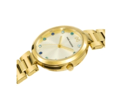 RELOJ MARK MADDOX CHAPADO ORO 33MM
