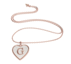 COLGANTE CORAZON GUESS G SHINE
